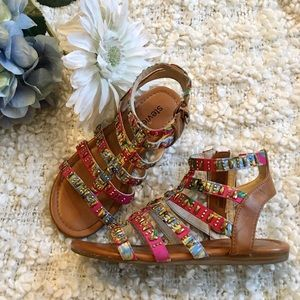 Stevies Girls Gladiator Sandals